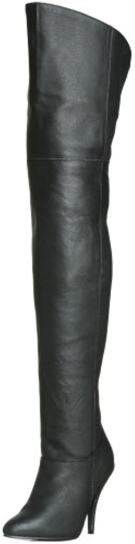 Pleaser LEG8868/B/LE- Bota Mujer - Altura Muslo