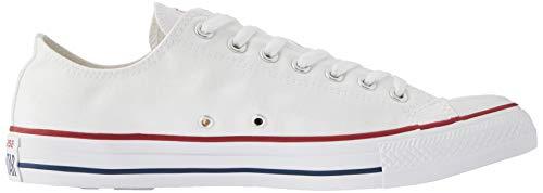 Converse Converse Chuck Taylor All Star Ox, Zapatillas Unisex, Blanco (Optical White), 38