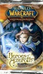 """Upperdeck - Jeu de carte - World Of Warcraft Booster """"Héros D"""