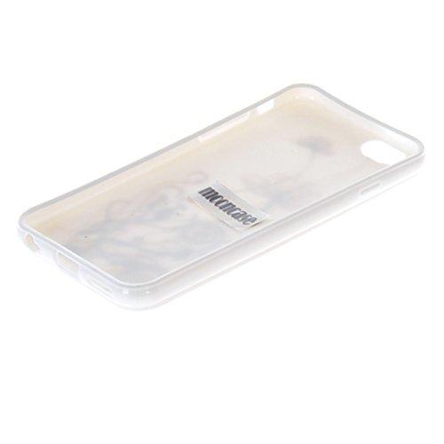 MOONCASE Gel TPU Silicone Housse Coque Etui Case Cover pour Apple iPhone 6 ( 4.7 inch ) Blanc 06