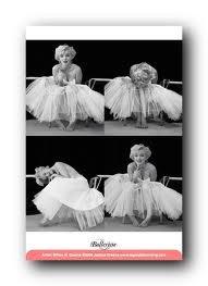 1art1 49221 Marilyn Monroe - Ballerina Foto-Serie Poster 91 x 61 cm
