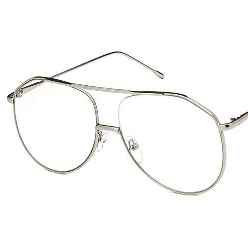 Wenkang Fashion Metal Frame Sun Glasses Design Pilot Sunglasses Women Glasses Unisex Optical Eyewear Masculine Oversized Sunglass,2