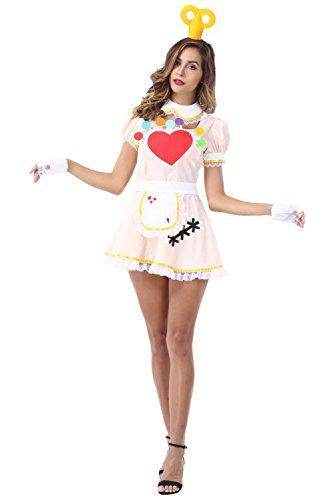 (Anime Cosplay Französisch Maid Schürze Kostüm Damen)