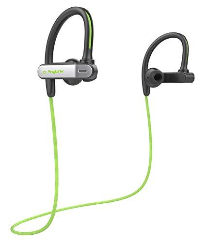 Auriculares Bluetooth 4.1, AngLink Auriculares Inalámbricos Deportivos Running con Micrófono Estéreo Manos Libres para Movil iPhone y Android ( apt-X y Ruido de Cancelación CVC 6.0 )