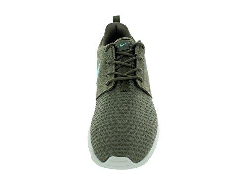 Nike Rosherun Winter, Baskets mode femme Vert (Dark Dune/Hyper Turquoise-Light Bone)