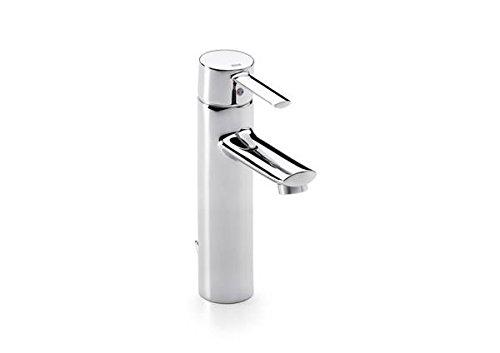 Roca A5A3460C00 – Mezclador monomando para lavabo con caño alto y desagüe automático