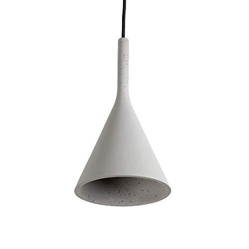 Famlights Designer Pendelleuchte Gerrit Grau Beton Deckenlampe Modern Hängeleuchte Hängelampe Edel Deckenbeleuchtung Deckenlampe Industrie