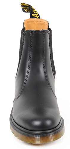 Dr. Martens 2976 Smooth Blackplain Welt, Stivaletti Unisexe Adulte Noir