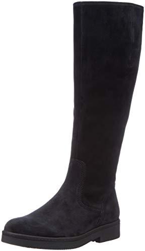 Gabor Shoes Damen Fashion Hohe Stiefel, Blau (Pazifik 16), 39 EU Leder Stiefel