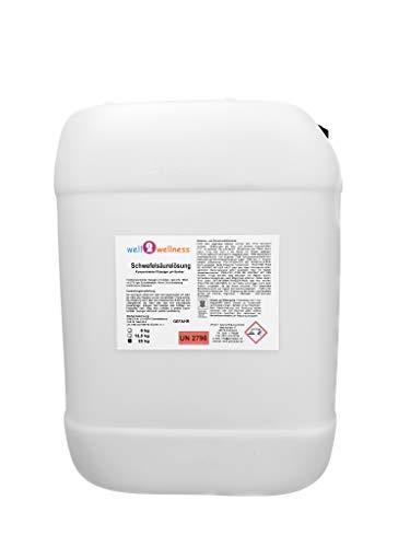 well2wellness Schwefelsäure (Akkusäure) mit 37/38% - 25 kg