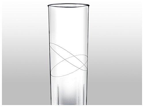 Gold Plast-Verres Long Drink 300cc-Blanc-6 pièces pour confection 300 cc.