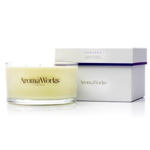 AromaWorks Soulful Duftkerze, 3 Dochte