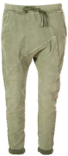 Basic.de Boyfriend-Hose im Joggpant Style Melly & CO 8175 Khaki M -