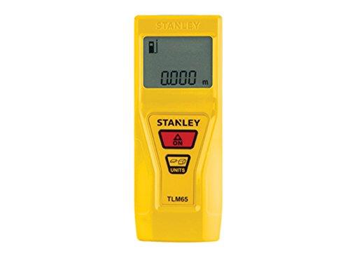 Preisvergleich Produktbild Stanley Laser-Entfernungsmesser TLM65 (20 m Reichweite, Ein-Knopf-Bedienung, automatische Abschaltung) STHT1-77032