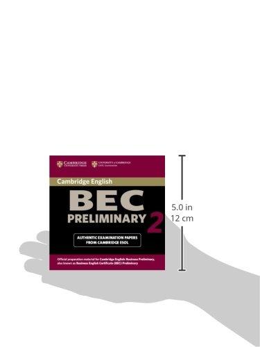 Cambridge BEC Preliminary 2 Audio CD: Examination Papers from University of Cambridge ESOL Examinations: Level 2 (BEC Practice Tests)
