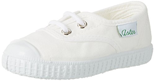 Aster Iggy, Baskets mode Mixte Enfant Weiß (Blanc)