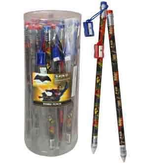 Batman VS SUPERMAN Jumbo Bleistift 15in [enthält 6Hersteller Retail Einheit (S) Pro Amazon kombiniert Paket Verkaufseinheit]-SKU # 45514MZ