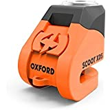 Oxford Scoot XD5 Security Motorcycle Scoot XD Disc Lock (5mm pin)Orange