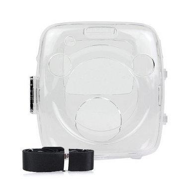 Woodmin Kristall Tasche for Fujifilm Instax SQUARE SQ 10 Hybride Sofortbild Kamera(Transparent)