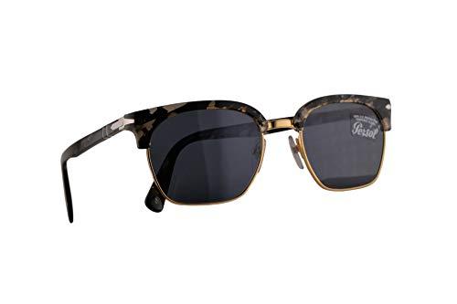Persol 3199-S Sonnenbrille Tortoise Grau Mit Blauen Gläsern 53mm 1080R5 PO 3199S PO3199S PO3199-S