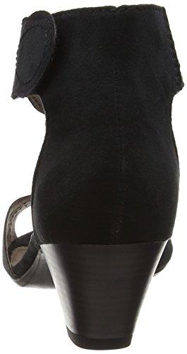 Softline - 28362, Sandali con cinturino Donna Nero (Nero (Black 001))
