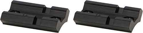 Weaver Top Mount Matte Black Base Pair - Savage 110 with Accu Trigger - Savage Black Matte