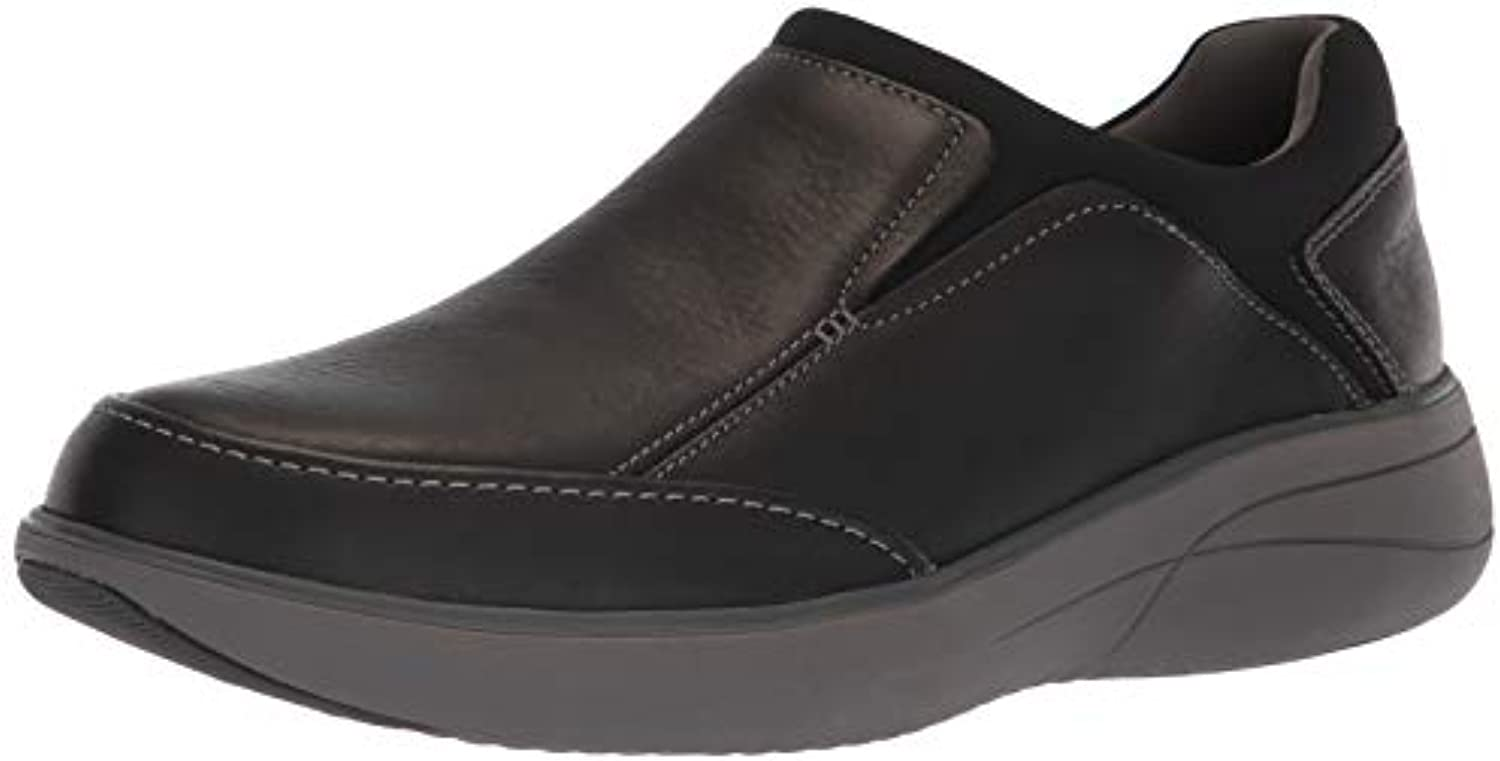 Clarks Men's Un Rise Rise Rise Step Loafer, nero Tumbled Leather, 095 W US | Tecnologia moderna