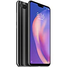 Xiaomi Mi 8 Lite with 6GB RAM and 128GB Storage 6.26-Inch Android 8.1 UK Version SIM-Free Smartphone - Black (Official UK Launch)