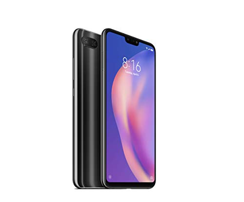 Xiaomi Mi 8 Lite 4GB RAM and 64GB Storage 6.26-Inch Android 8.1 UK Version SIM-Free Smartphone - Grey (Official UK Launch)