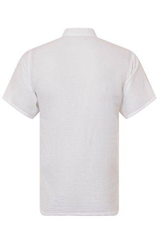 ThaiUK Herren Freizeit-Hemd mehrfarbig mehrfarbig One size Weiß