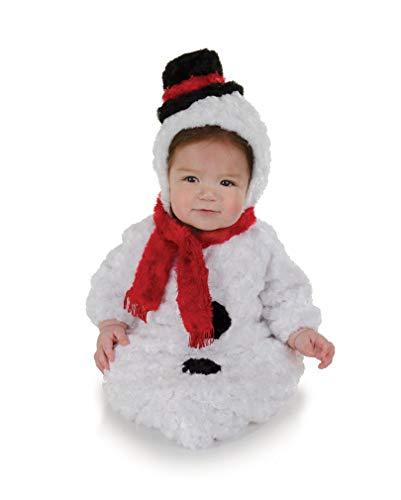 Horror-Shop Muñeco de Nieve del bebé Saco de Vestuario