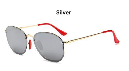 Sonnenbrille Retro Kleine Sechseckige Polarisierte Sonnenbrillen Männer Im Freien Treibenden Gläser Spiegel Sonnenbrille Frauen Einzigartige Brillen Vu 400 Silber Spiegel