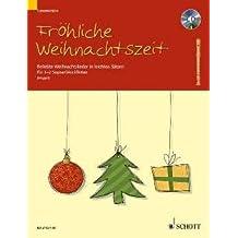 froeh liche Tiempo de Navidad – Arreglados para flauta dulce soprano – (para un hasta