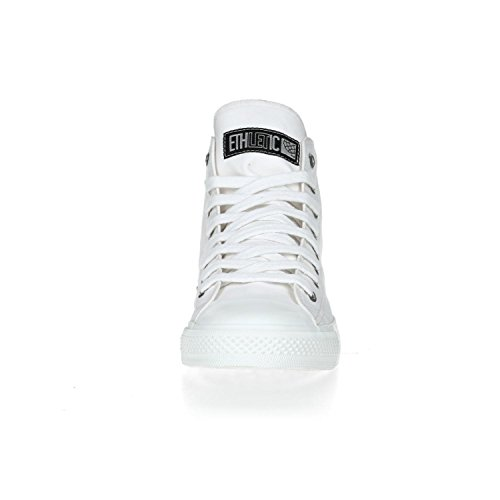 Ethletic Sneaker HiCut Collection 17 aus Bio-Baumwolle – just white / weiß – nachhaltig & fairer High-Sneaker - 6