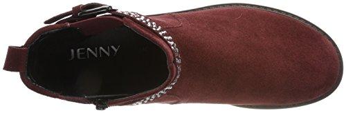 Jenny Damen Dover-stf Chelsea Boots Marciume (borgogna)