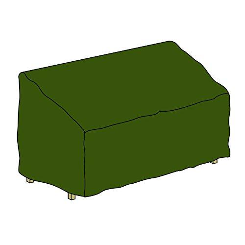 Schutzhülle für Gartenbank Abdeckhaube Abdeckplane 150 x 62 x 90 cm aus Polyester wasserdicht grün