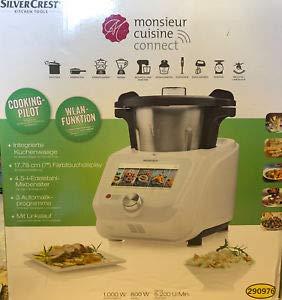 SilverCrest Monsieur Cuisine Connect Robot-cuiseur avec accessoires standards
