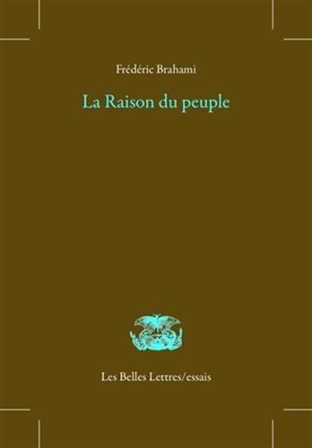La Raison du peuple par Frédéric Brahami