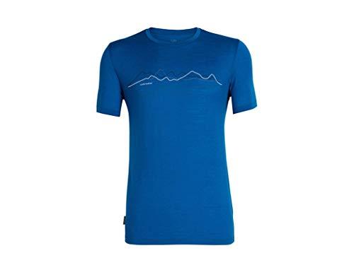 Nur Mens Tee (Icebreaker Herren Mens Tech Lite SS Crewe Original T-Shirt, Isle, XXL)