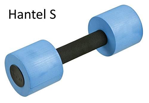 BECO Aquahanteln | 1 Paar - 2 Stück - Schaumstoffhanteln für Wassergymnastik Fitnesshanteln Aquajogging | Größe M