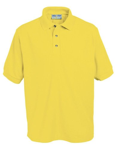 Banner Penthouse Polo Brust 22in - 56 In. 17 Farben Gelb