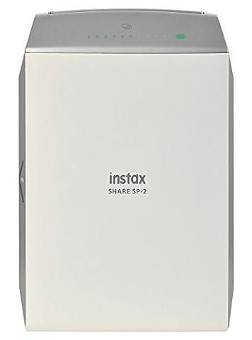 Polaroid Fujifilm Instax - Fujifilm INSTAX SHARE SP-2 SILVER EX D