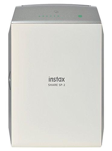 Fujifilm Instax Share SP-2 Silver EX D - Impresora para smartphone, plata