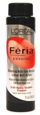 loreal-feria-color-543-24-oz-spicy-golden-copper-pack-of-3-by-loreal-paris