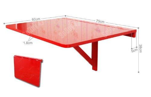 Tavolo pieghevole da parete SoBuy, cucine tavolo, tavolo pieghevole ...