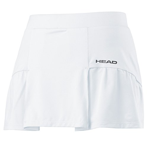 HEAD Damen Club Basic Skort Women Röcke, weiß, S