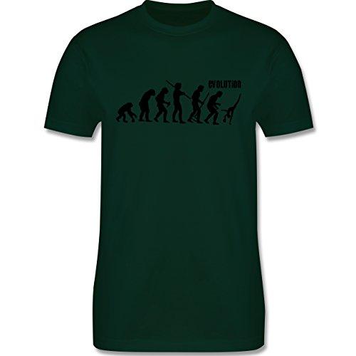 Evolution - Rhythmische Sportgymnastik Evolution - Herren Premium T-Shirt Dunkelgrün