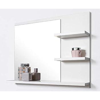 Bathroom Mirror with Shelf: Amazon.co.uk: Kitchen & Home
