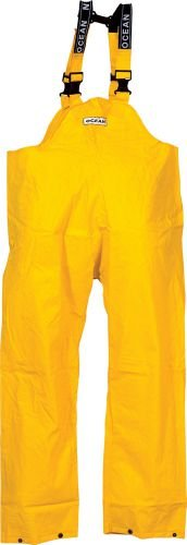 Ocean® Regenlatzhose Off-shore Budget 18-13, PVC 460g, Größe:S; Farbe:gelb