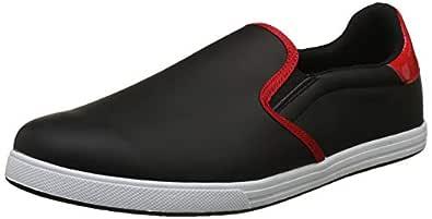 Fila Men's Brayson Blk/CHN Rd Sneakers-6 UK/India (40 EU) (11006531)